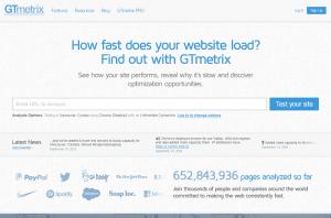 ابزار آنلاین gtmetrix جهت تست و افزایش سرعت سایت